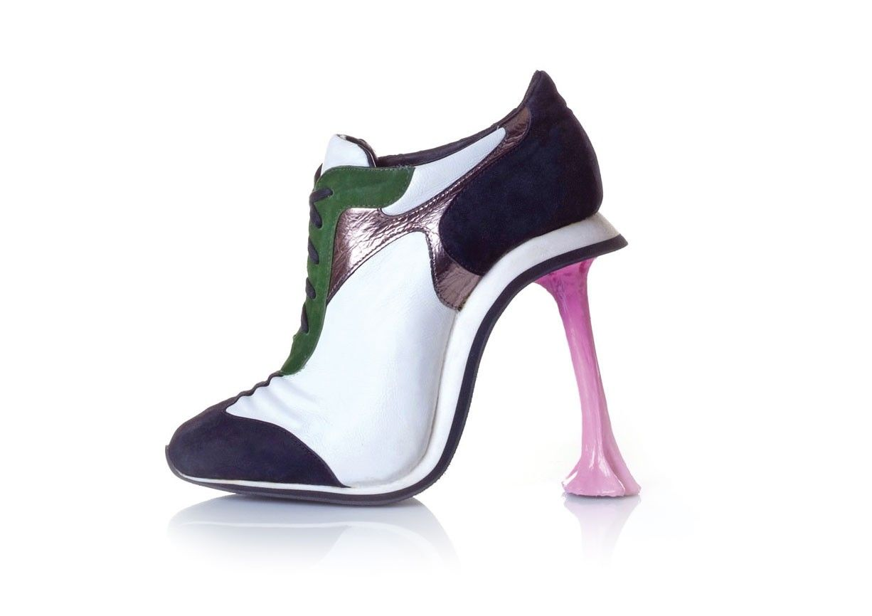 Chewing Gum High Heels. Ha. Ha.
