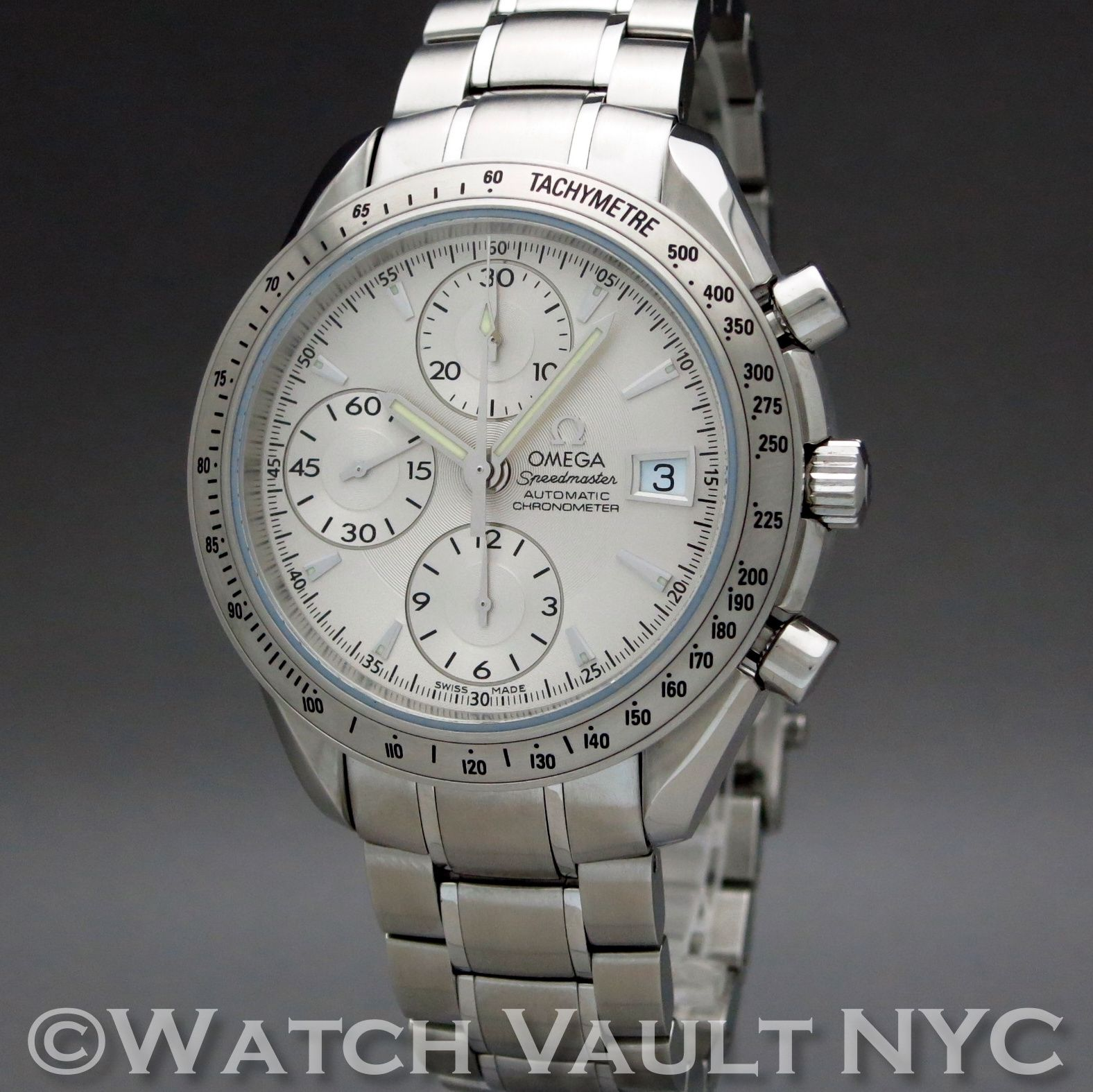 2a0cabe8c8b Omega Speedmaster Date Chronograph 3211.30 40mm Auto