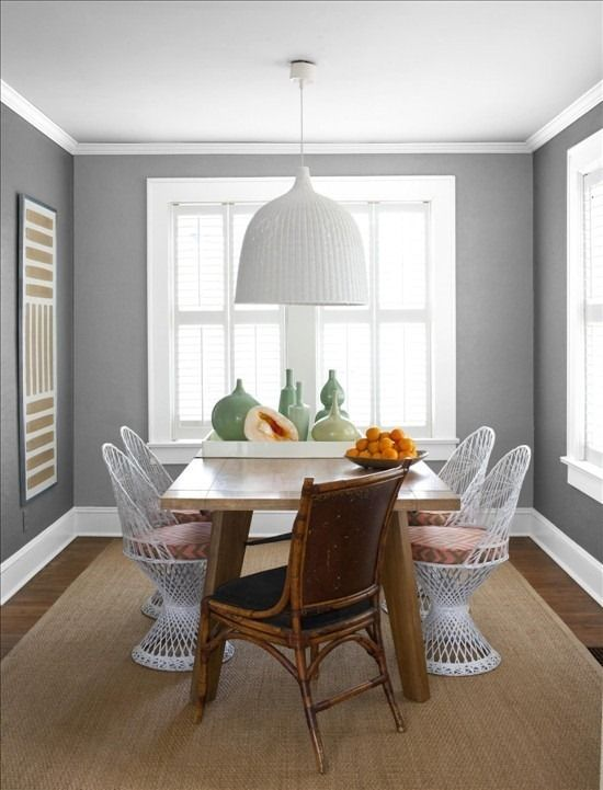 A Smart Way To Mix Your Seating Options In This Dining Room Redesignrevolution