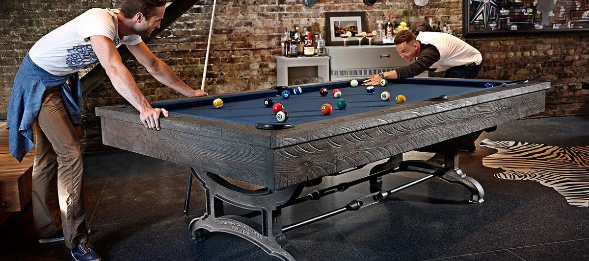 The Fitness Outlet Brunswick Birmingham Pool Table - Pool table storage ideas