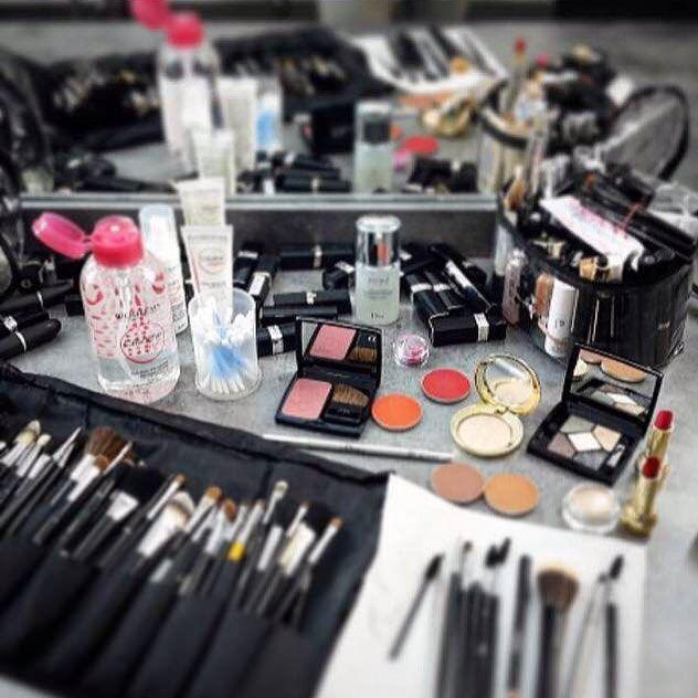 #Repost @alexandra_schiavi #new @biodermafrance #bottle #crealine @montasar #newcollection @dior #makeup#backstage #behindthescene #studio