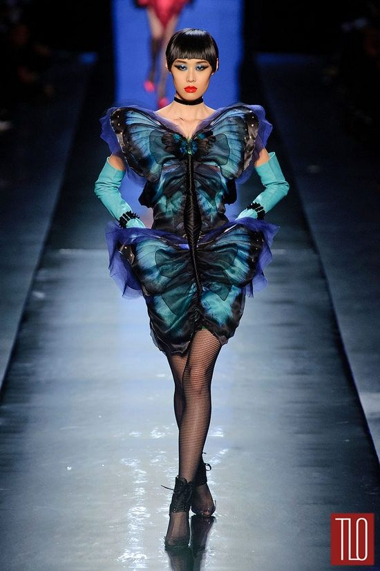 jean paul gaultier spring 2014 couture collection tom lorenzo fabulous opinionated. Black Bedroom Furniture Sets. Home Design Ideas