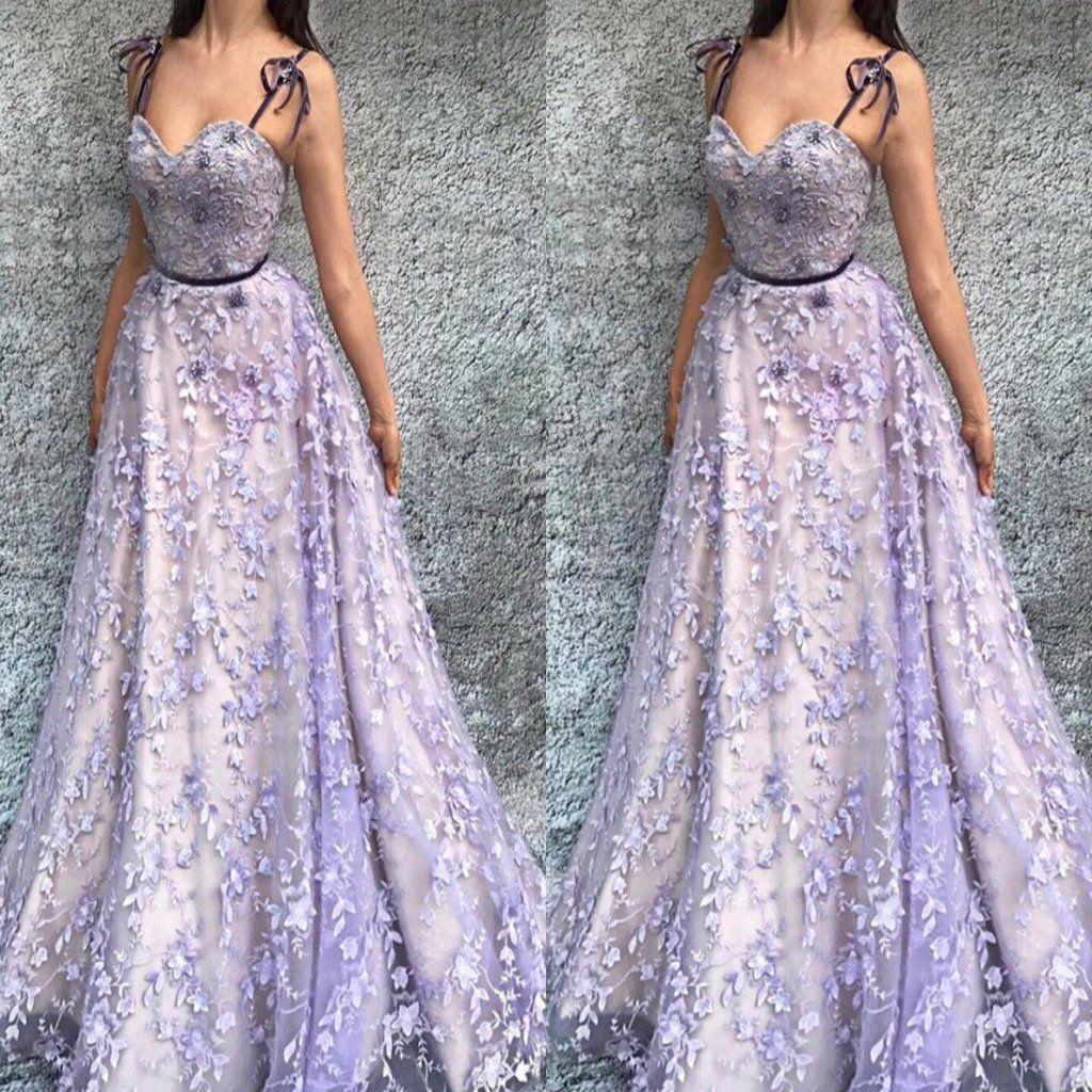 Aline spaghetti straps floorlength burgundy prom dress with