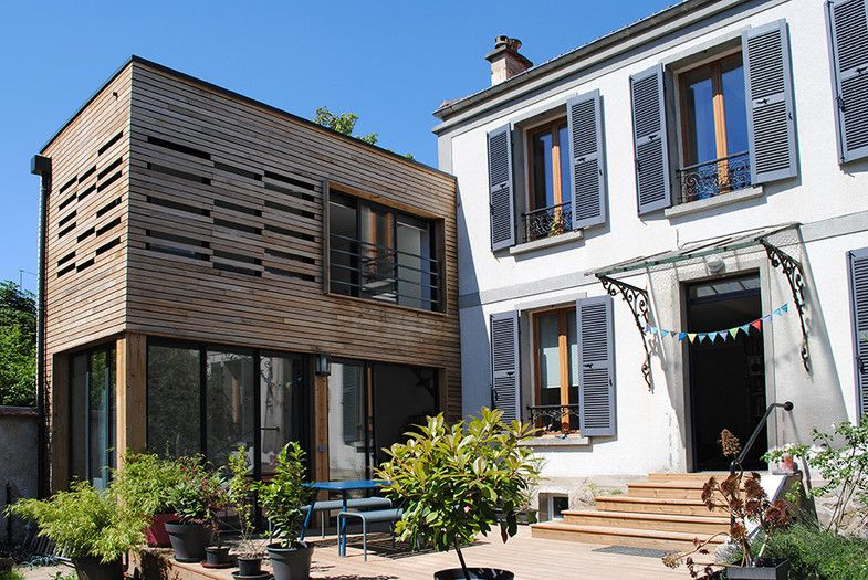 habiter le jardin par merril sin us architecte fontenay sous bois val de marne france. Black Bedroom Furniture Sets. Home Design Ideas