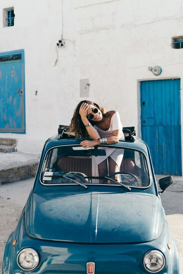 Puglia Road Trip With Guerlain (Collage Vintage)