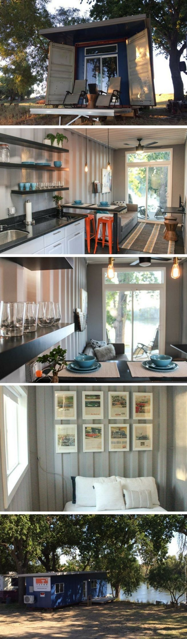 U modern shipping container home there are things you should do