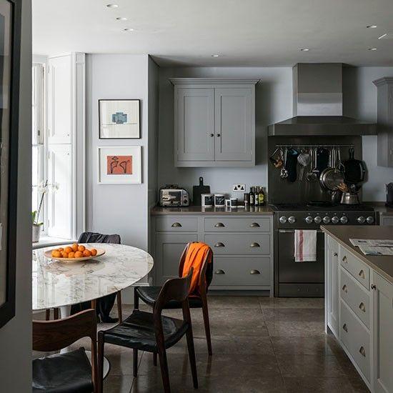 Küchen Küchenideen Küchengeräte Wohnideen Möbel Dekoration Decoration  Living Idea Interiors Home Kitchen Graue Küche Mit