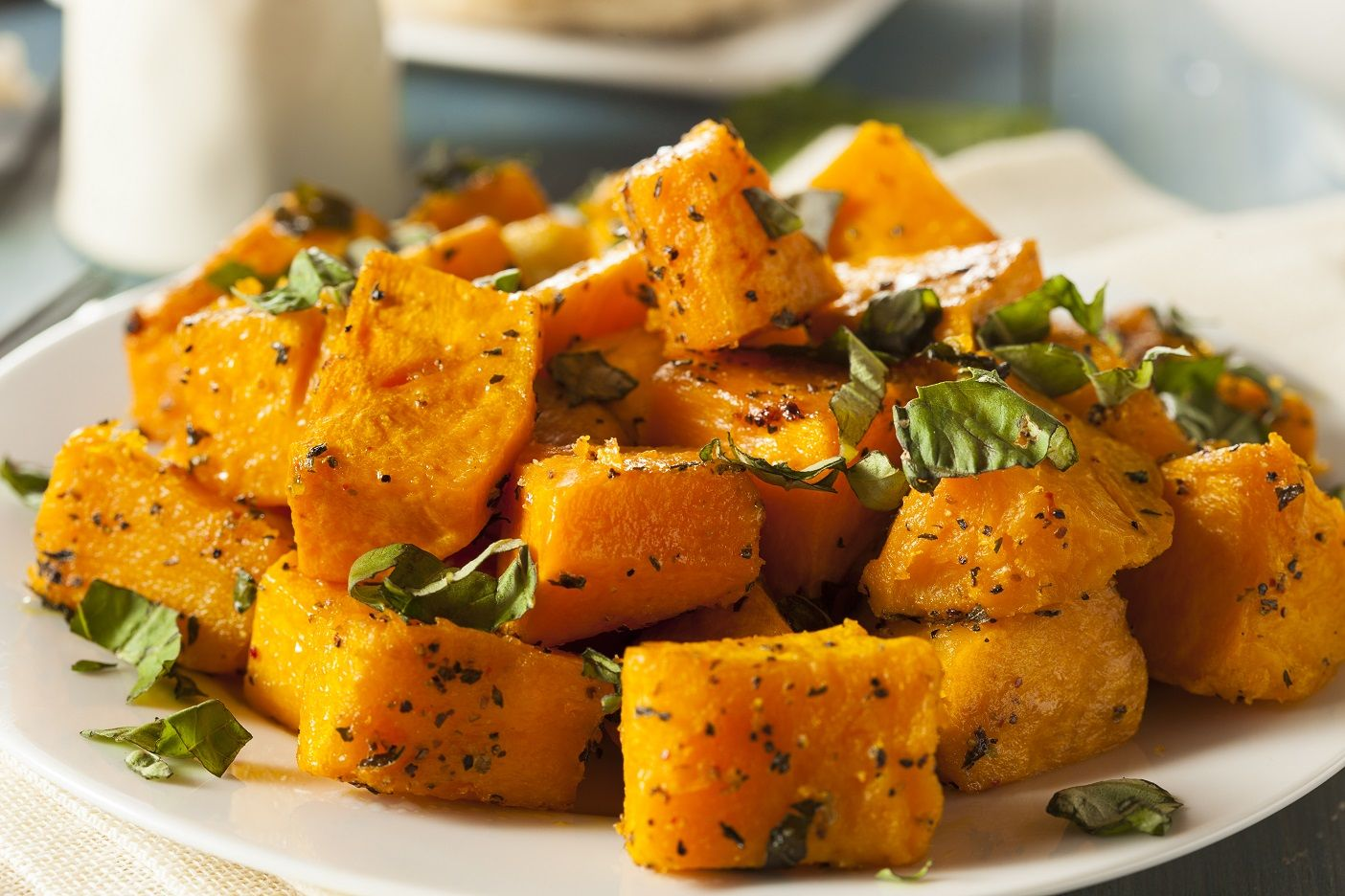 Roasted Acorn Squash and Sweet Potatoes Recipe