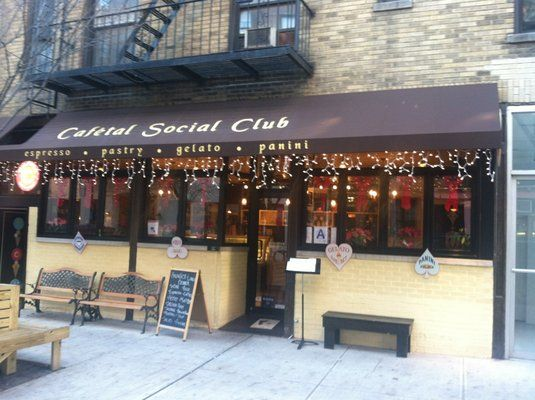 Cafetal Social Club Soho Nice Latte Good Setting To Socialize And Sit Has Gelato Best Settings Dream City Social Club