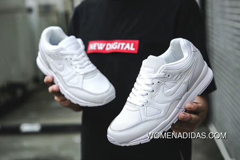 sports shoes 808b7 b424c New Nike Air Span II Air Cushion Unisex Sports Casual Shoes White 2018  Online