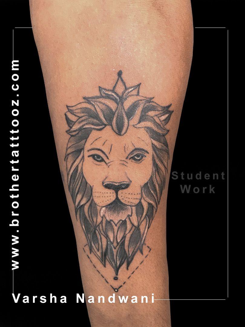 #lion #liontattoo #tattoo #tattooart #tattoodesign #tattoomodel #brothertattooz