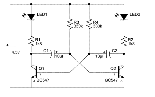 Astable Transistors Is A Semiconductor Device Used To