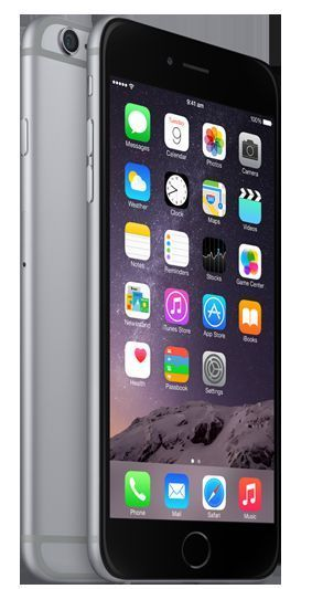 apple iphone 6 plus 128gb space grau ohne vertrag mgac2zd. Black Bedroom Furniture Sets. Home Design Ideas