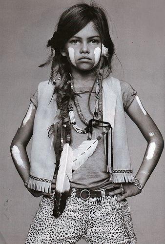a0697b7b103d9 Indiens, Petite Fille, Vogue Enfants, Mode Enfant, Enfance, Femmes Sauvages,