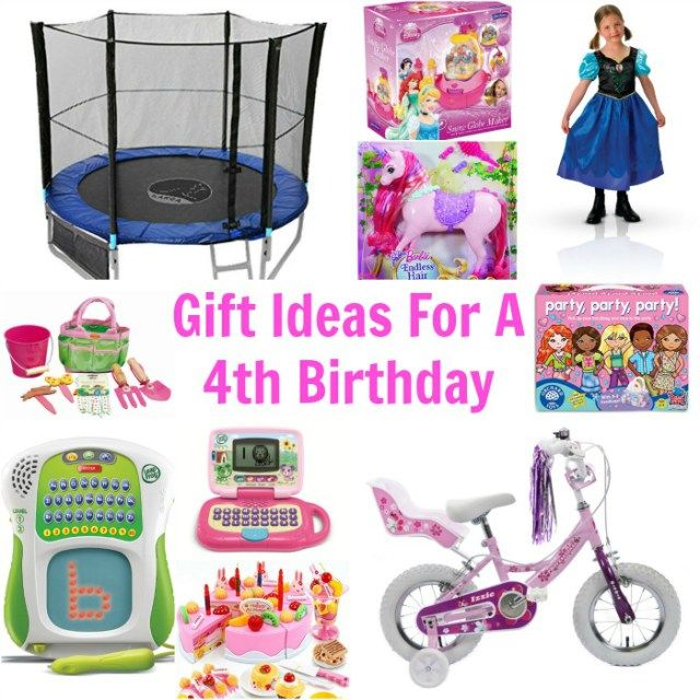 Gift Ideas For A 4th Birthday