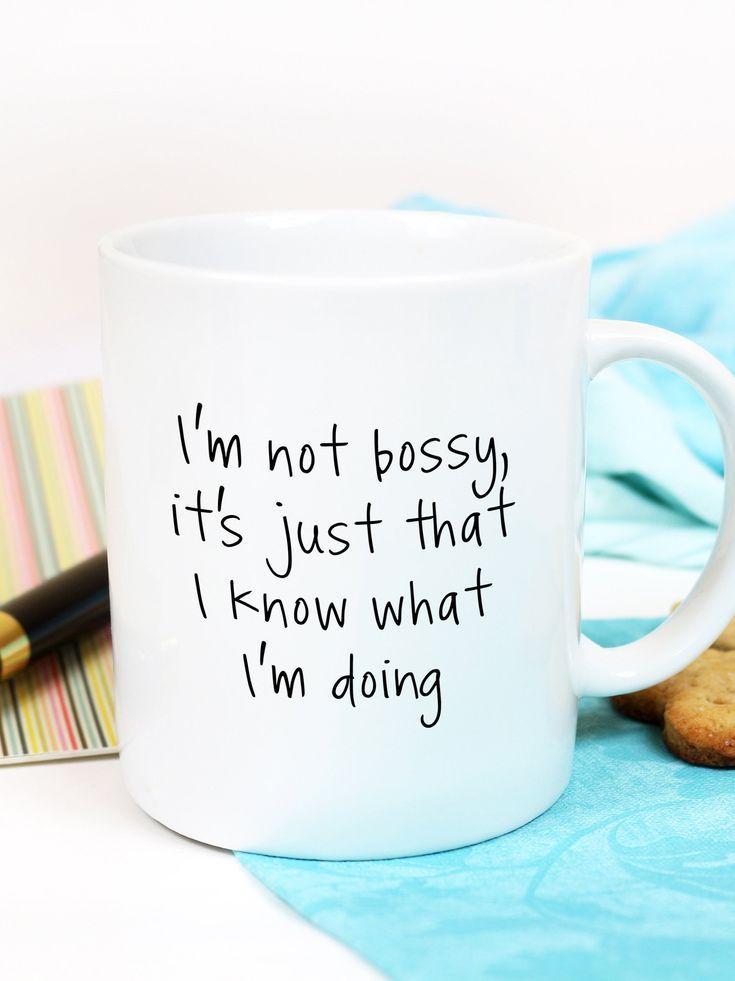 I'm not Bossy Mug, funny coffee mugs, office mug, sarcastic mug, coffee mug, funny coffee cup, bossy mug, mugs for boss, boss gifts #funnycoffeemugs