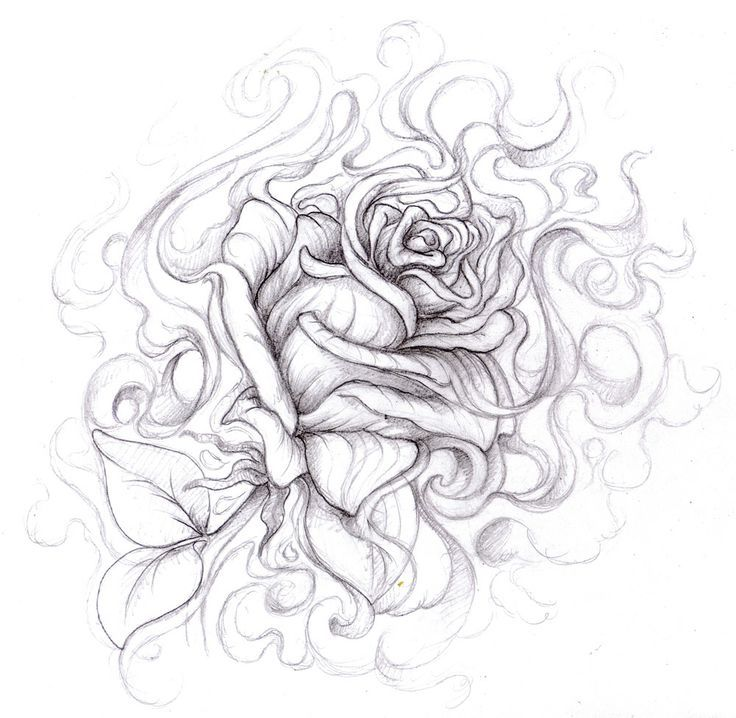 1000 ideas about cool drawing designs on pinterest for Cool rose drawings