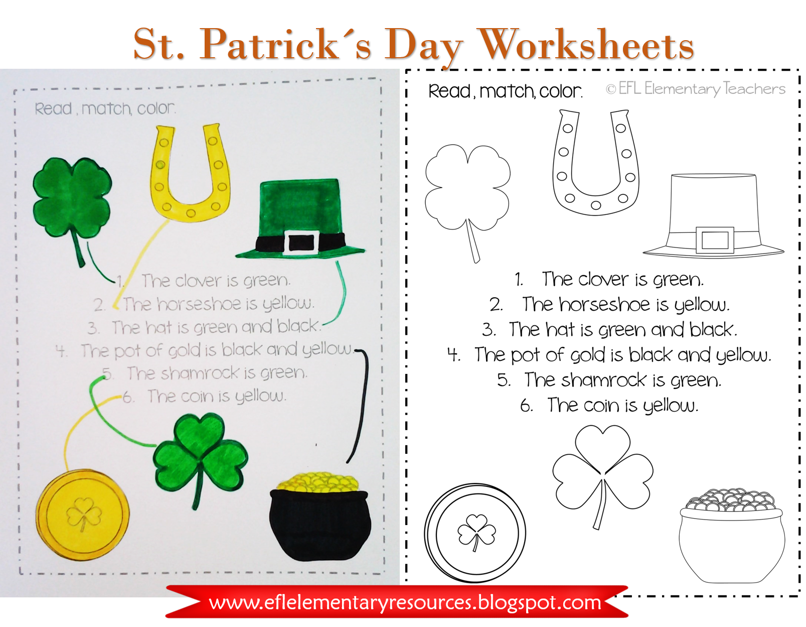 St Patrick S Day Image By Efl Preschool And Elementary T