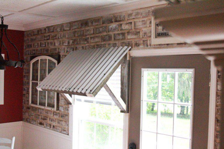 Diy 10 Corrugated Metal Awning Diy Awning Metal Awning Corrugated Metal