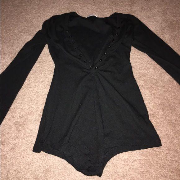 Black bodysuit brand new Never worn black bodysuit Dicloud Intimates & Sleepwear