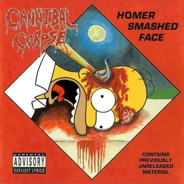 I Love Cannibal Corpse Homer Is Awesome M Things I Love