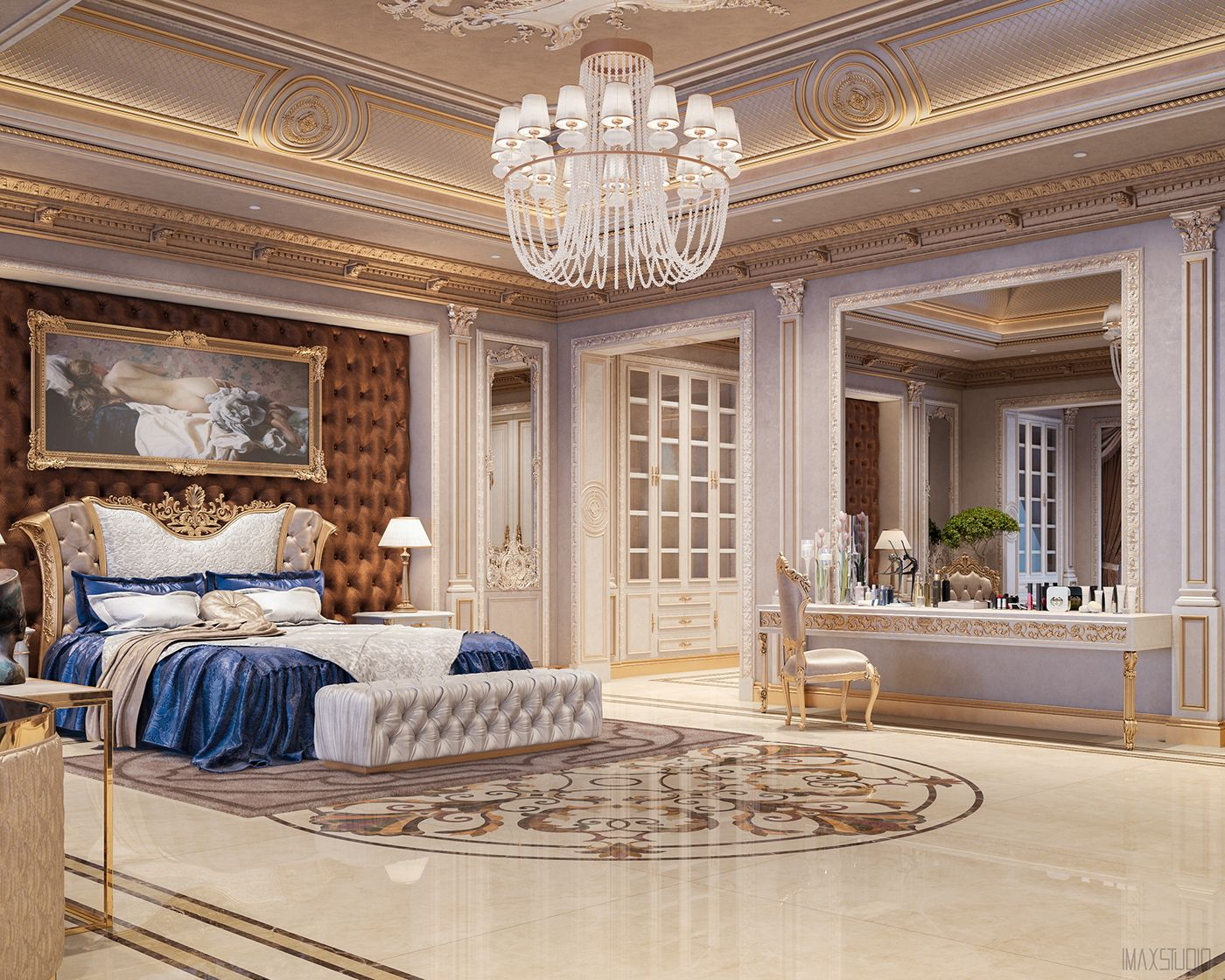 Best Luxury Master Bedrooms By Famous Interior Designers With 640 x 480