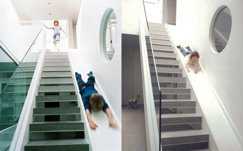 25 Epic Indoor Outdoor Slides Staircase Slide Beautiful Stairs