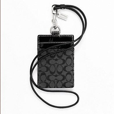 75c1b90ac23 Boutique Malaysia  COACH SIGNATURE LANYARD ID CASE