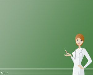 This Is A Registered Nurse Powerpoint Template That Can Be