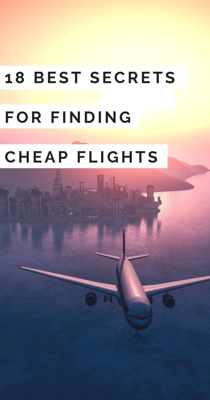Cheap Flights - 18 Best Kept Secrets for How to Get Cheap Airfares - Get the cheapest flight to anywhere by using these travel secrets! Find cheap flights to wherever you want to go, or find completely new destinations! Cheap airfare - Travel tips - Travel Budget - Travel Cheap - La Vie en Travel