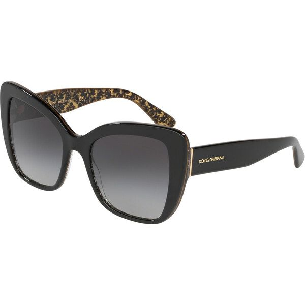 Dolce & Gabbana DG4348 32158G, Plastic, Black, Sunglasses …