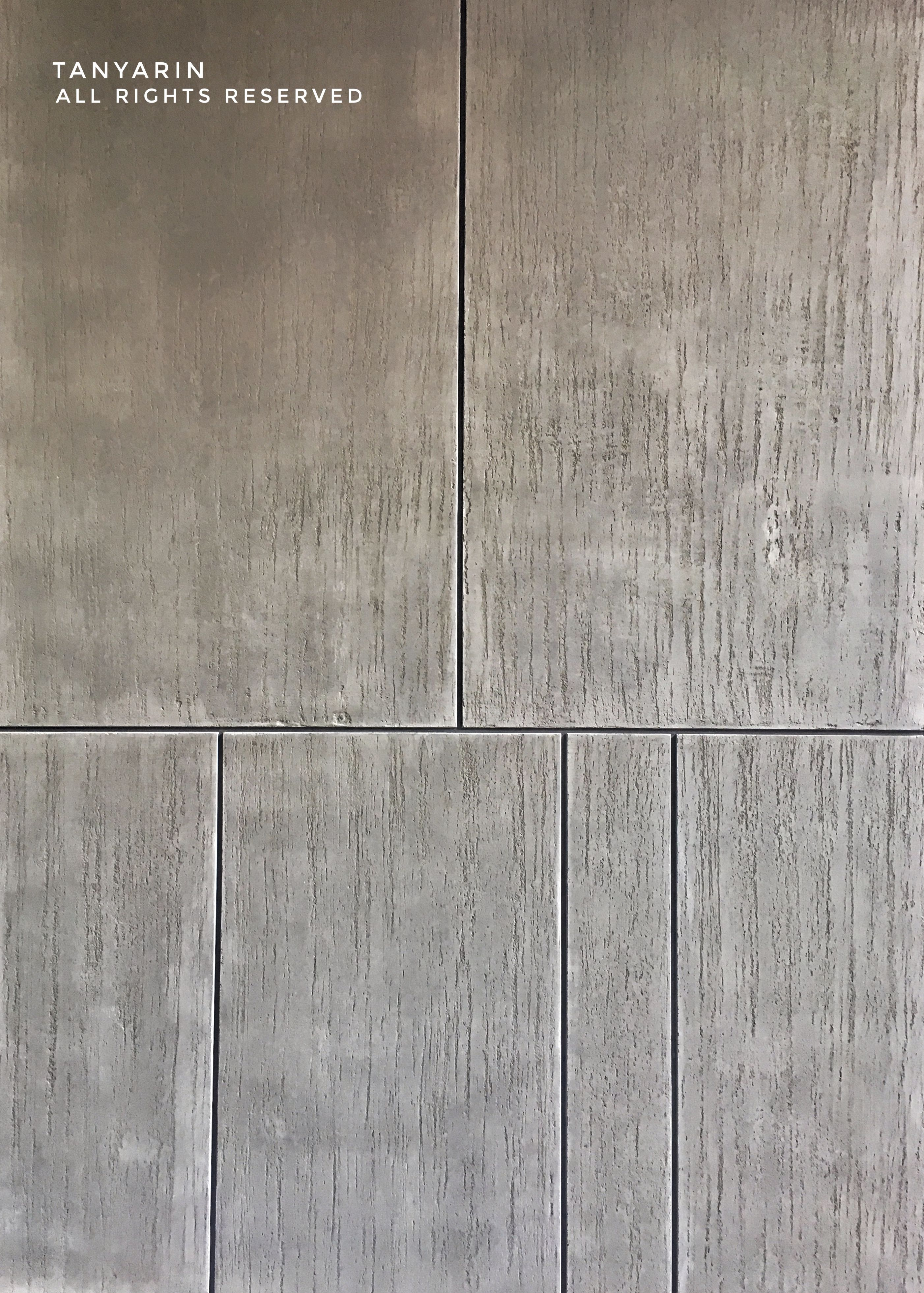 Tanyarin Created Armourcoat Travertine Surface As Concrete Style Travertine Tanyarin Decoration Surface Finishing Wall Cement Design Travertine Concrete