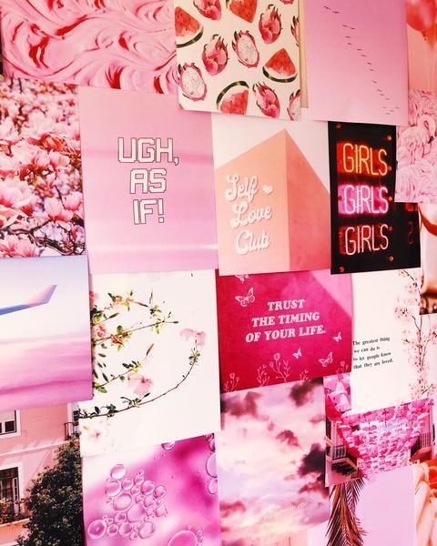 Pretty in Pink Print Kit