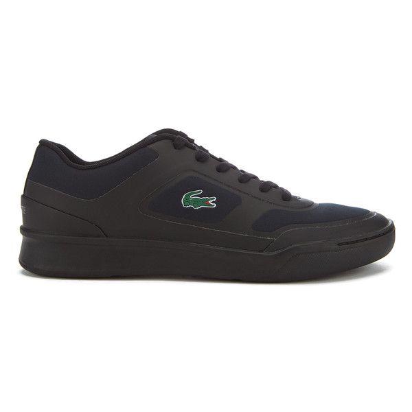 Lacoste Men's Explorateur Sport 316 1 Trainers (390 BRL) ❤ liked on  Polyvore featuring men's fashion, men's shoes, men's sneakers, black, mens  breathable ...