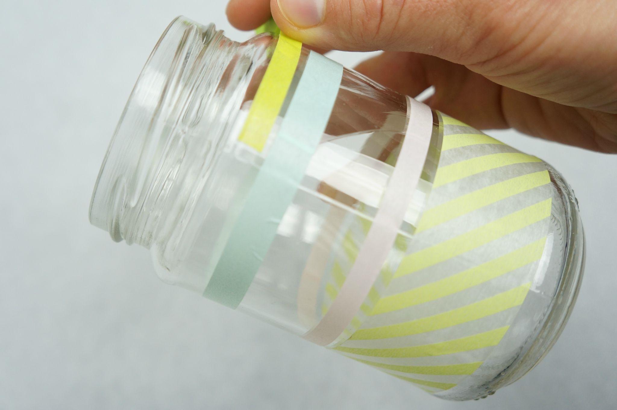 quelques idées créatives avec du masking tape - atelier fleur de mai