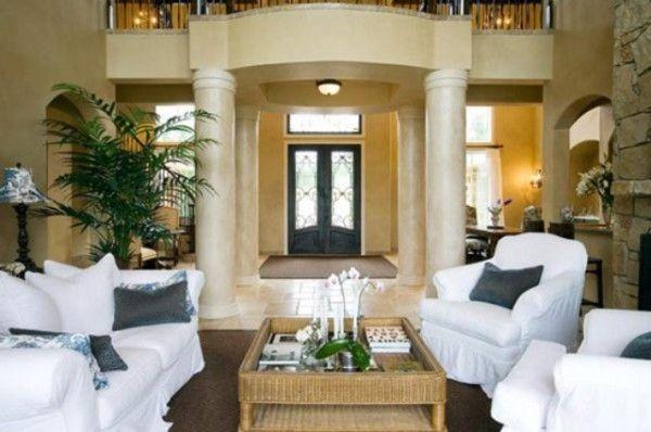 Elegant Livingroom Ideas Modern Mediterranean Living Room Interior Design My Flooring Color