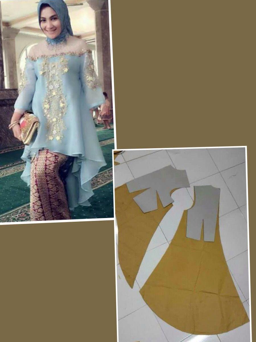 Model Jahit Baju Kebaya Terbaru
