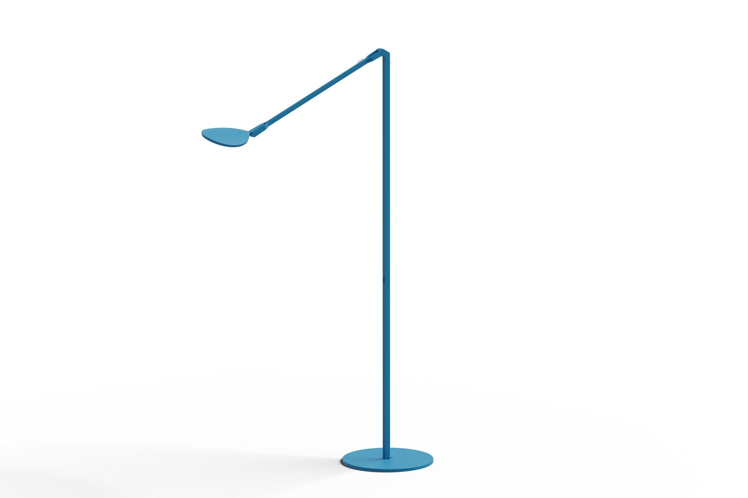 Contemporary Modern Led Floor Lamp In Matte Pacific Blue From The Splitty Collection By Koncept Spy W Mpb Usb Flr In 2021 Led Floor Lamp Lamp Floor Lamp