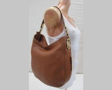 b00c956bf023 MICHAEL Michael Kors Medium Fulton Chain Hobo Bag.