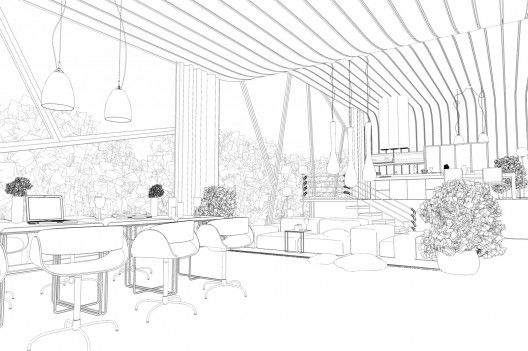 Interior Outline 528x351 Making Of Asgvis Vray For Sketchup