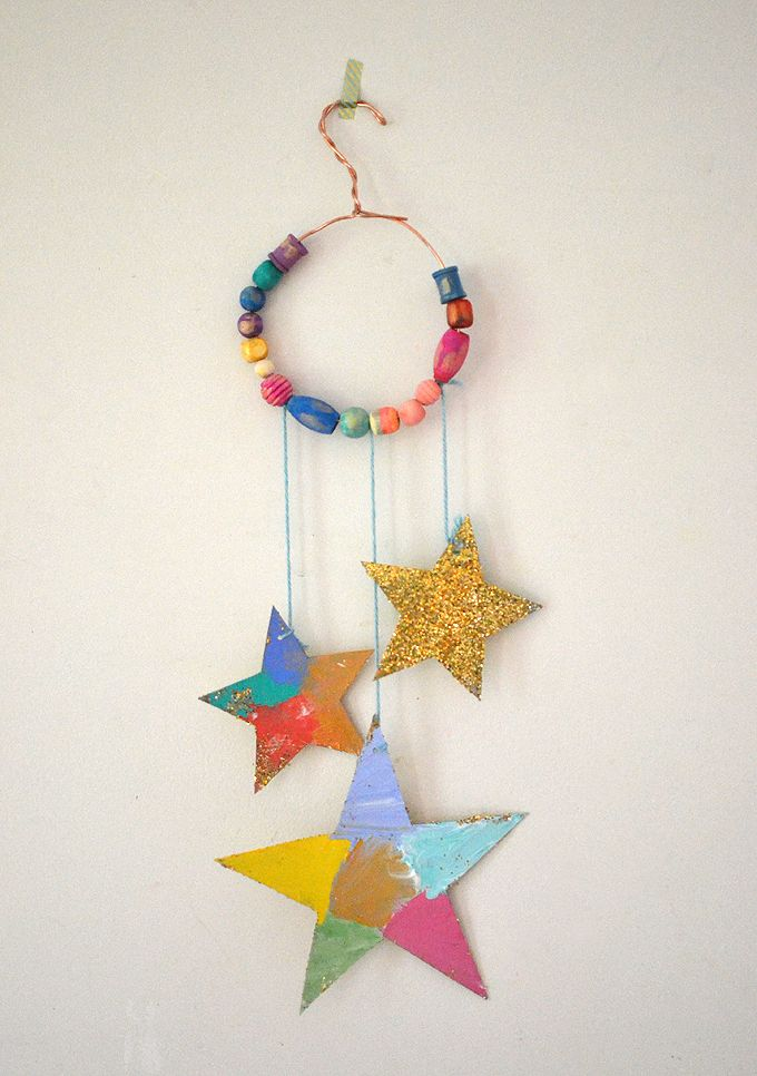 Photo of DIY Dream Catchers Made by Kids