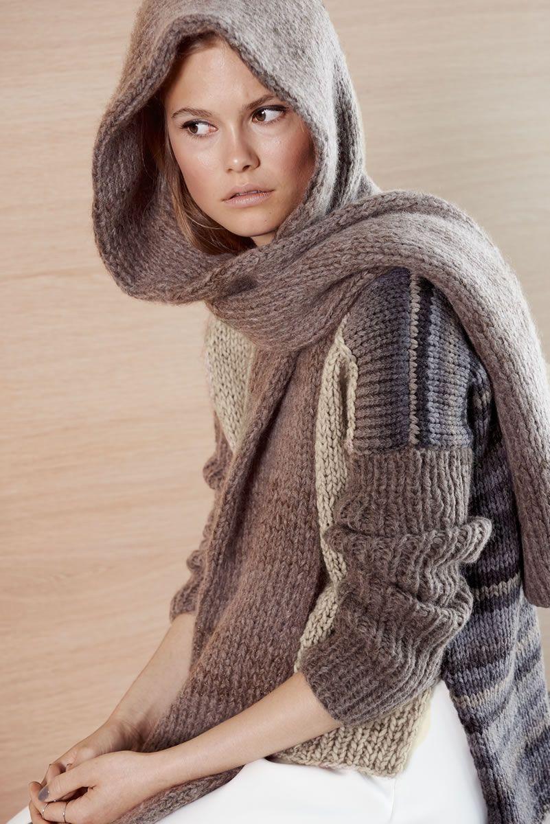 Lana Grossa KAPUZENSCHAL Yak Merino/Splendid - Design Special No. 2 ...