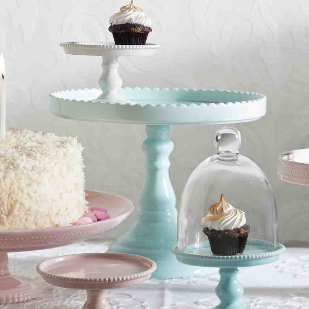 acrylic pedestal square only stands cake additional stand effect glass