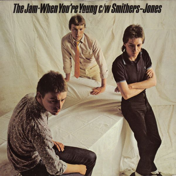 The Jam - When You're Young  c/w  Smithers-Jones   (UK single)   [1979]