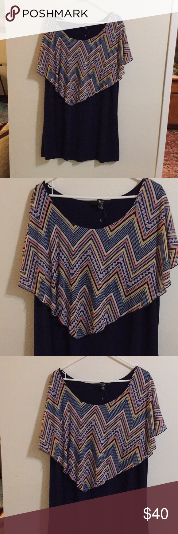 NAÏF wide neck dress with Cape. NAÏF wide neck dress with Cape.polyster. NAIF Dresses Midi