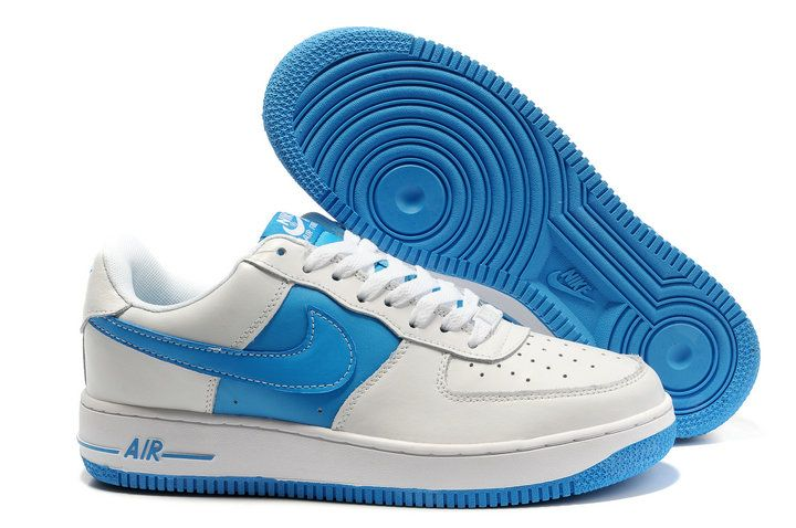 sale retailer 2b596 29a16 2012 Nike Air Force 1 Low LA 03 White Blue
