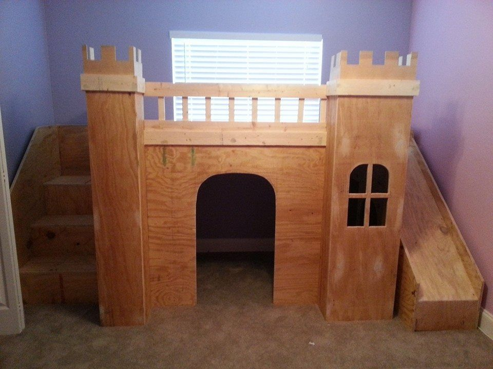 Pin By Evangelina Martinez On Love It Loft Bed Plans Diy Castle