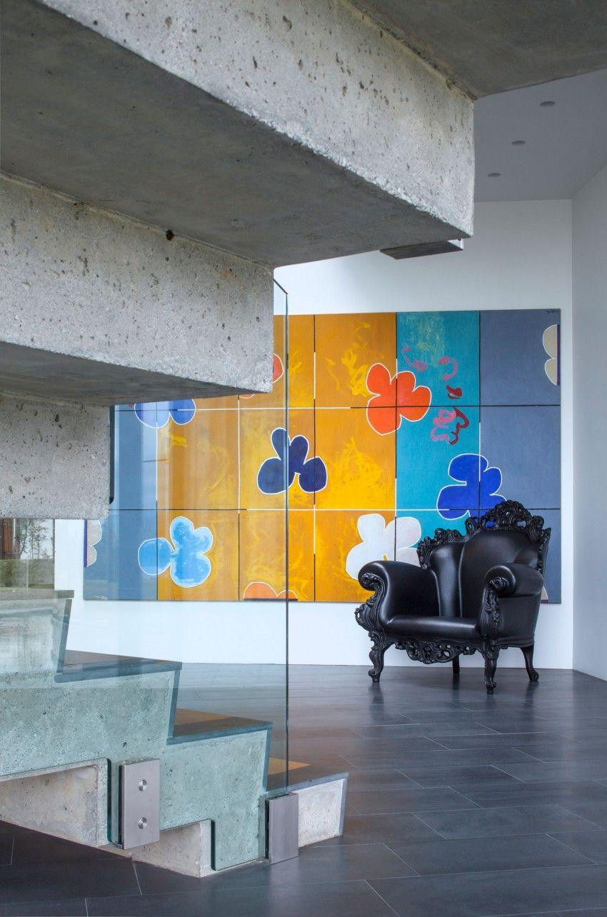 Casa de formas de la arquitectura EON (17)