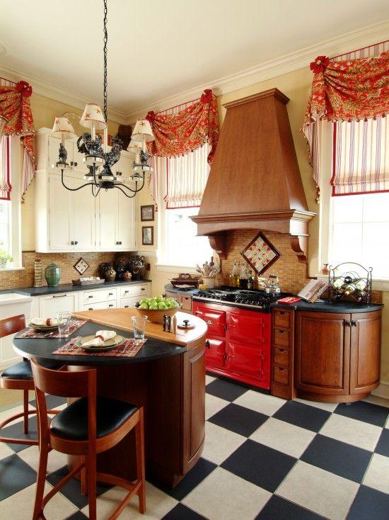 Box Valance Ideas Design Kitchen Drapery French