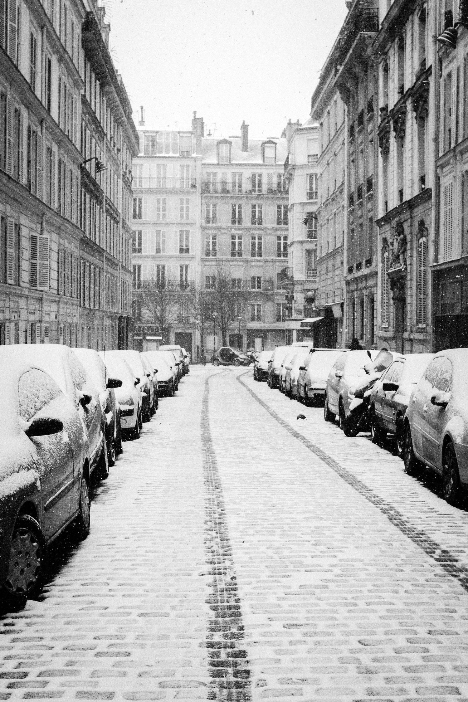 Paris in Black and White | Paris black, white, Black ...